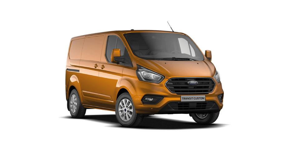 Ford Transit Custom Van Hybrid