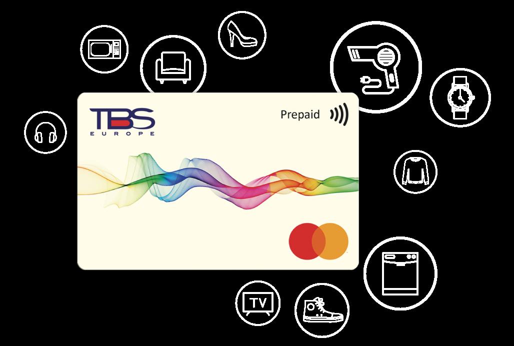 TBS Pays. La carta da far spendere  ai tuoi collaboratori come vogliono.