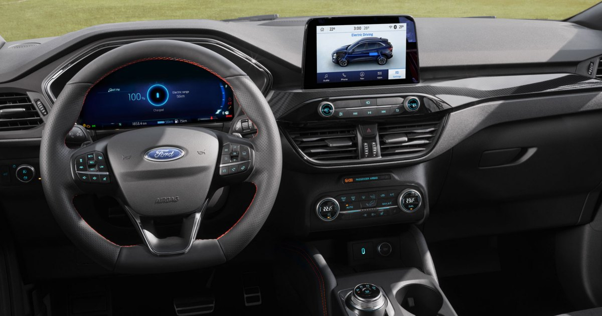 Interno Ford Kuga Plug-In Hybrid